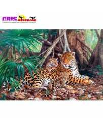 Puzzle Jaguares en la Jungla de 3000 piezas