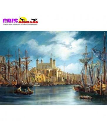 Puzzle Nuevo Dia en el Puerto de 3000 piezas