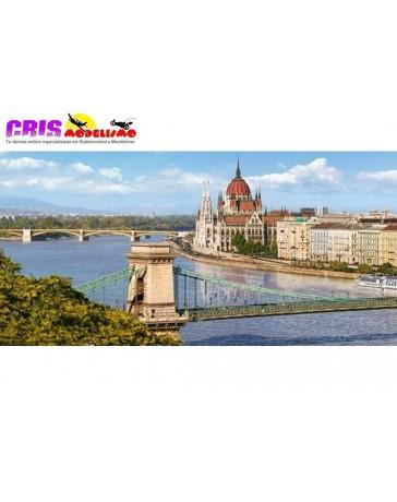 Puzzle The View Over The Danube, Budapest de 4000 piezas