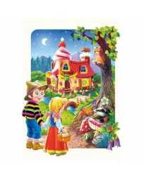 Puzzle Hansel y Gretel de 20 piezas Maxi
