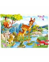 Puzzle Ciervos Pequeñosos de 20 piezas Maxi