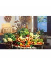 Puzzle Frutas y Verduras de 1000 piezas