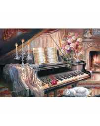 Puzzle Sonata a la Luz de las Velas de 1000 piezas