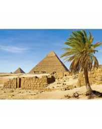 Puzzle Piramide en Giza, Egipto de 1500 piezas