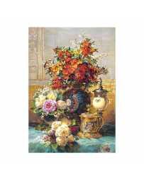 Puzzle Flores sobre una Mesa de 1500 piezas