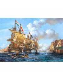 Puzzle Batalla de Porto Bello de 2000 piezas