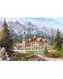 Puzzle Castillo al Pie de las Montañas de 3000 piezas