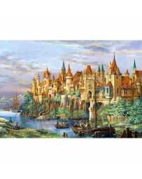 Puzzle Ciudad de Rothenburg de 3000 piezas
