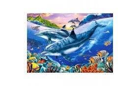 Puzzle Laguna de Delfines