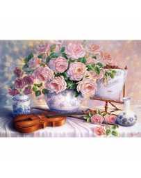 Puzzle Rosas para la Velada de 3000 piezas