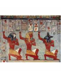 Puzzle Ramsés III Arrodillado Delante de los Dioses de 1000 piezas
