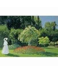 Puzzle La Mujer en el jardín de 1500 piezas
