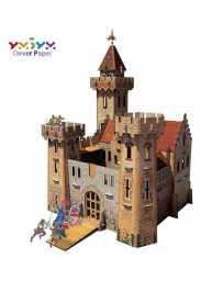 Puzzle 3D Castillo Medieval