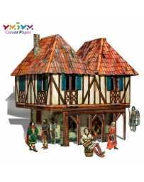 Puzzle 3D Casa Señorial