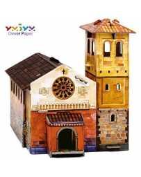 Puzzle 3D Iglesia