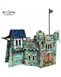 Puzzle 3D Torre Redonda