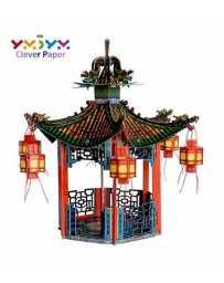 Puzzle 3D Cenador Chino