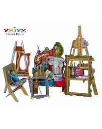Puzzle 3D Sala de Pintura