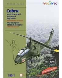 Puzzle 3D Helicoptero AH-1F Cobra