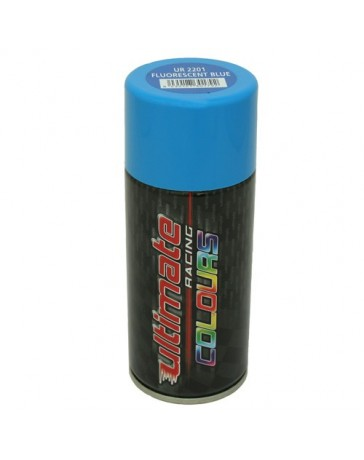 Ultimate racing pintura en spray azul fluorescente - Pintura en spray para coches ...