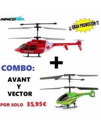Helicoptero Nincoair 255 Avant + Vector