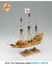 Maqueta Barco de Madera Galeon