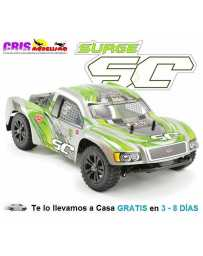 Coche FTX Surge Verde 1/12 4WD Brushed Short Course Truck RTR