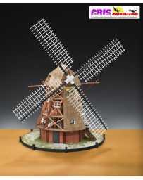 Maqueta Molino de viento Holandes