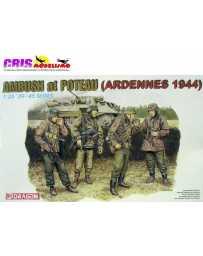 Maqueta de plastico Ambush at Poteau Ardennes