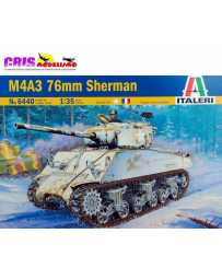 Maqueta de plastico M4A3 76mm Sherman