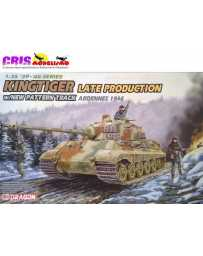 Maqueta de plastico Kingtiger Late Production