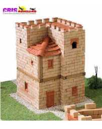 Maqueta de ceramica Torre Medieval