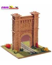 Maqueta de ceramica Puerta Tunel de Somport