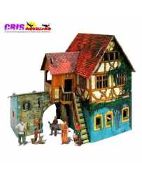 Puzzle 3D Casa Pescadores
