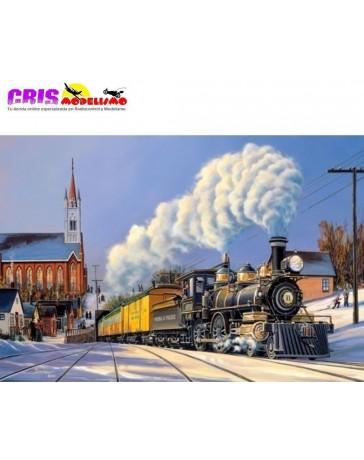 Puzzle Navidad en la Estación de 500 piezas