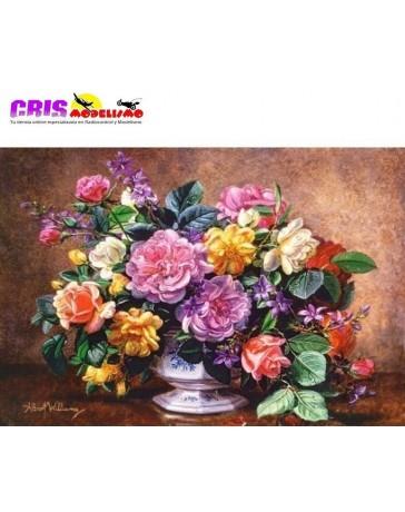 Puzzle Bodegón de Rosas
