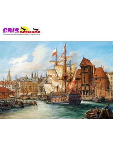 Puzzle La vieja Gdansk de 1000 piezas