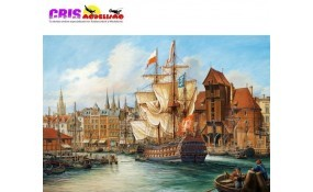 Puzzle La vieja Gdansk