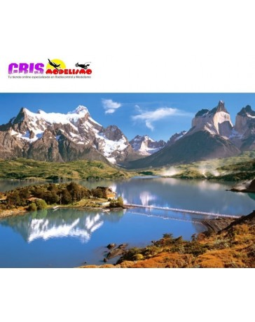 Puzzle Patagonia de 1000 piezas