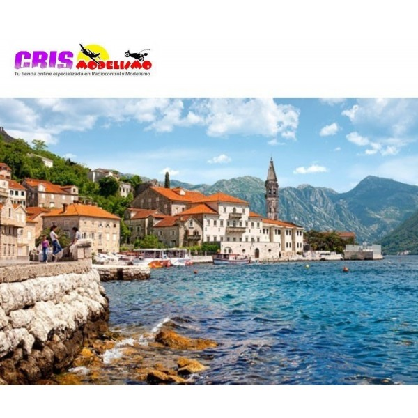 Puzzle Perast, Montenegro de 1000 piezas