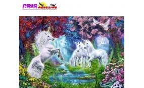 Puzzle Cita con el Unicornio