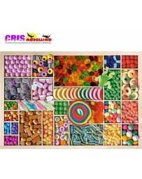 Puzzle Arco Iris de Dulces de 1000 piezas