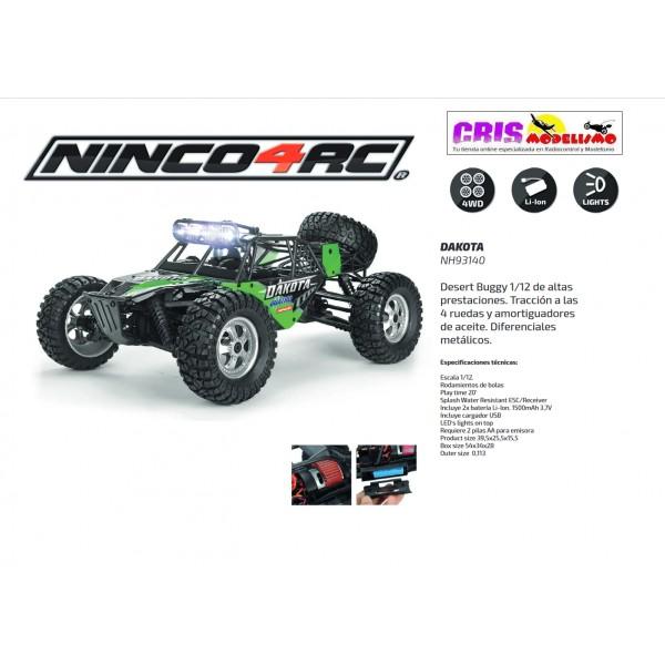 Coche Buggy Nincoracers Dakota Pro 1/12