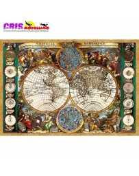 Puzzle Mapa del Mundo Antiguo de 1500 piezas