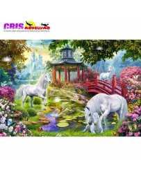 Puzzle Verano de Unicornios 1500 Piezas