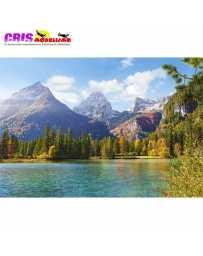 Puzzle Picos de Montañas 1500 Piezas