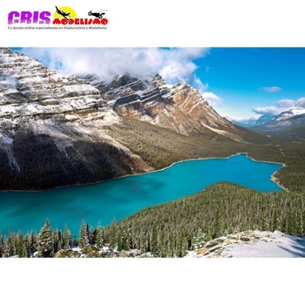 Puzzle Lago Peyto, Parque Nacional Banff, Canadá de 1500 piezas