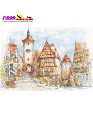 Puzzle Rothenburg Ob Der Tauber de 1500 piezas