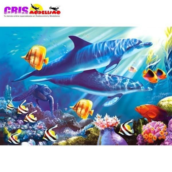 Puzzle Mundo Submarino de 1500 piezas