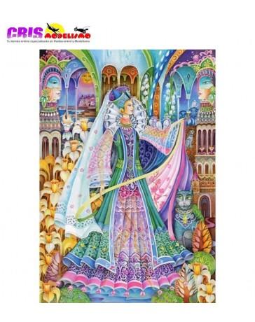 Puzzle La Reina Primavera de 1500 piezas